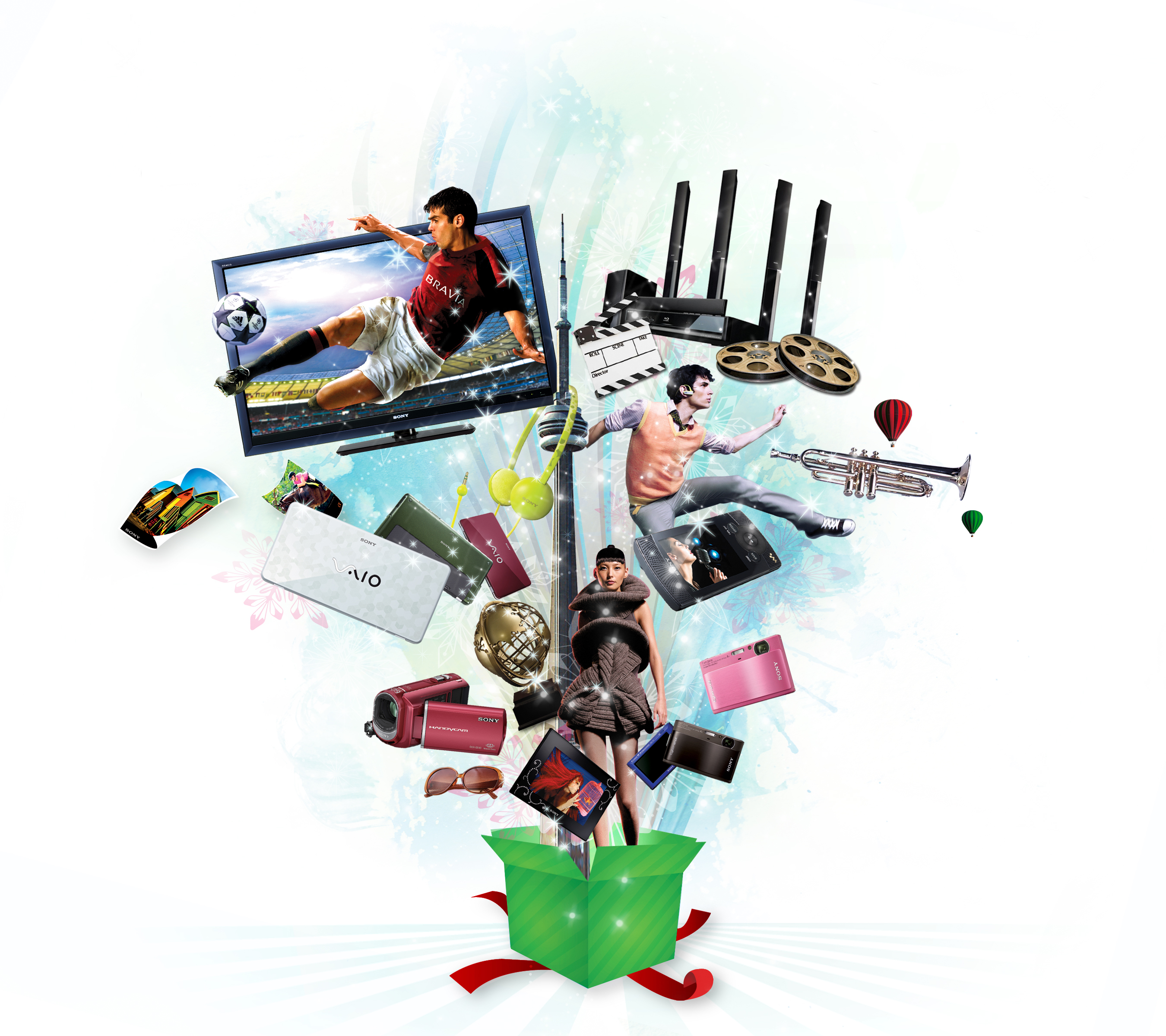 Sony christmas treasures 2009 makes gift giving easier prnews with negle Choice Image
